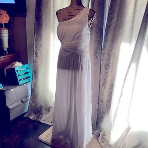 NWT beautiful White Ever Pretty formal dress